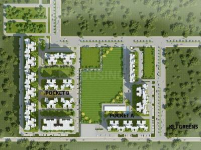 Gallery Cover Image of 1373 Sq.ft 2 BHK Apartment for buy in KLJ Greens, Sector 77 for 3900000