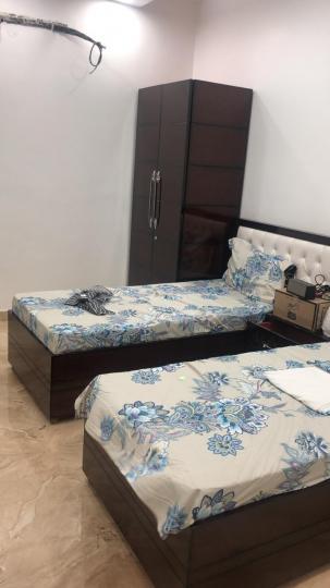 फतेह नगर में फेयर पीजी के बेडरूम की तस्वीर