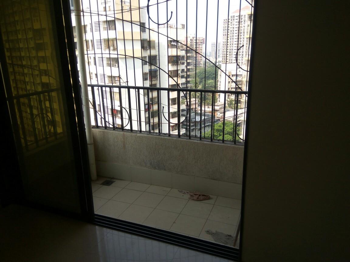 Balcony Image of 1375 Sq.ft 2 BHK Apartment for rent in Malad East for 48000