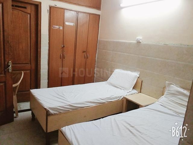 Bedroom Image of Shri Krishna Residency in Garhi