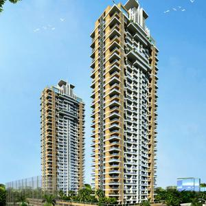 Gallery Cover Image of 1057 Sq.ft 2 BHK Apartment for buy in Deep Homes Auralis The Twins, Thane West for 20500000