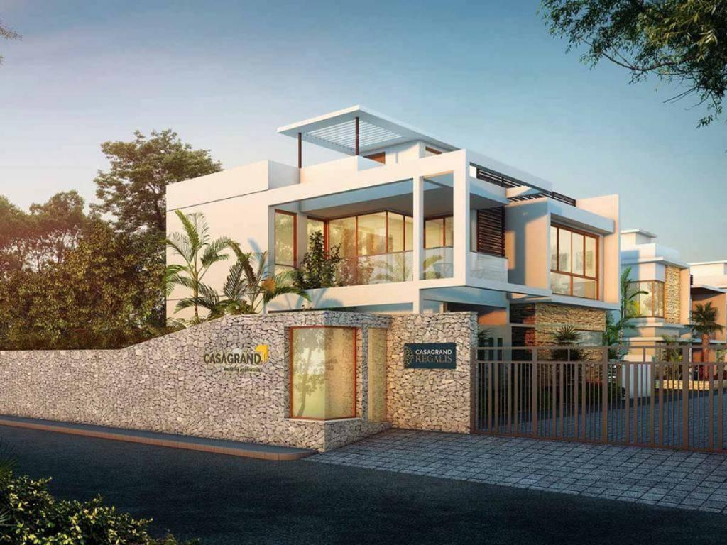 Building Image of 3224 Sq.ft 2 BHK Villa for buy in Cheran Ma Nagar for 21800000