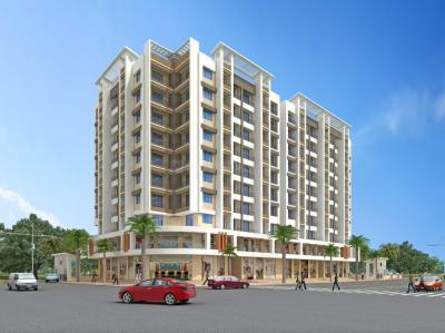 Gallery Cover Image of 680 Sq.ft 1 BHK Apartment for buy in Gandhi And Samani Vardhaman Bhoomi Residency, Bhiwandi for 2500000