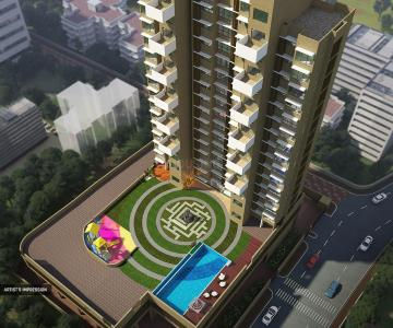 Gallery Cover Image of 703 Sq.ft 2 BHK Apartment for buy in Kanakia Hollywood, Andheri West for 25500000