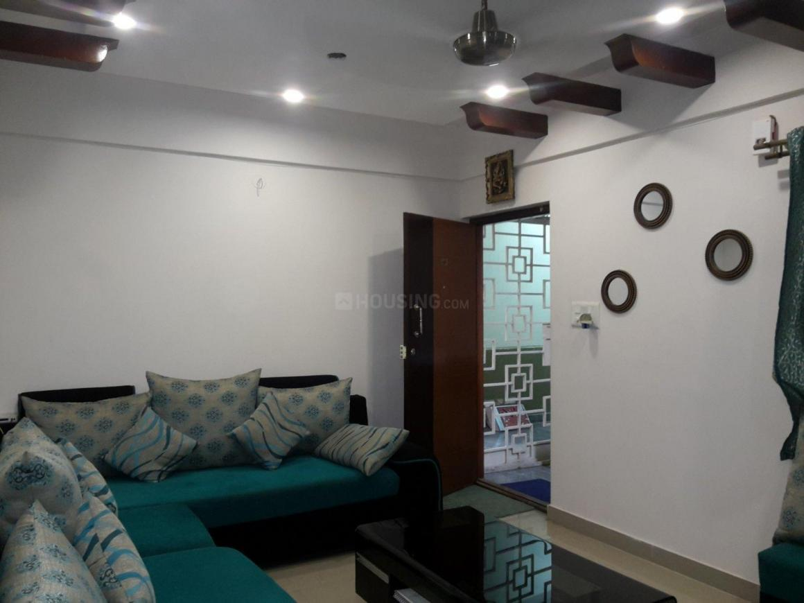 Living Room Image of 1350 Sq.ft 2 BHK Apartment for rent in Whitefield for 28000