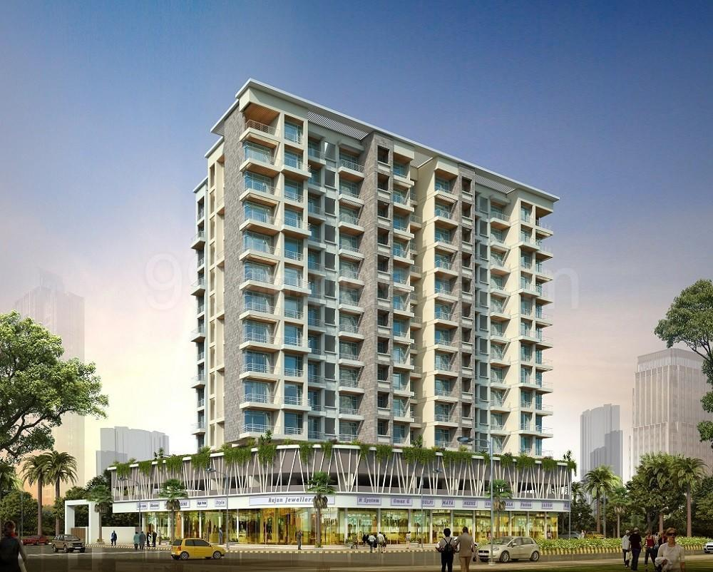 Building Image of 1080 Sq.ft 2 BHK Apartment for buy in Greater Khanda for 11000000