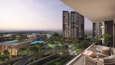 Gallery Cover Image of 1855 Sq.ft 3 BHK Apartment for buy in Godrej Meridien, Sector 106 for 18000000