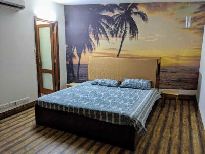 Gallery Cover Image of 800 Sq.ft 1 BHK Independent Floor for rent in South Extension II for 40000