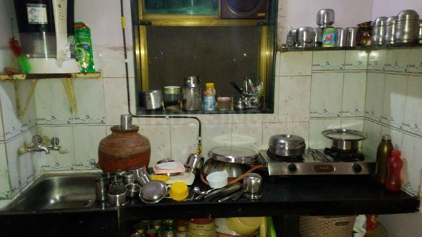 Kitchen Image of 352 Sq.ft 1 RK Apartment for buy in Kalyan East for 2500000