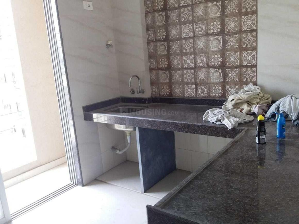 Kitchen Image of 750 Sq.ft 1 BHK Apartment for buy in Kalyan West for 6300000