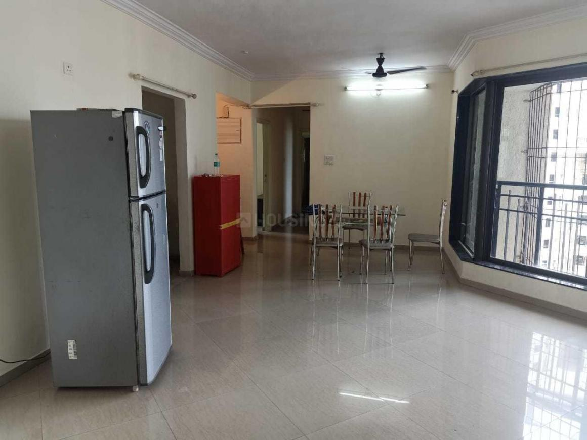 Living Room Image of 1250 Sq.ft 3 BHK Apartment for rent in Mulund West for 44000