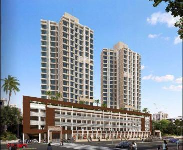 Gallery Cover Image of 1450 Sq.ft 3 BHK Apartment for buy in Amal Aspen Garden, Goregaon East for 19900000