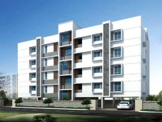 Gallery Cover Image of 1180 Sq.ft 2 BHK Apartment for buy in Balanagar for 5546000