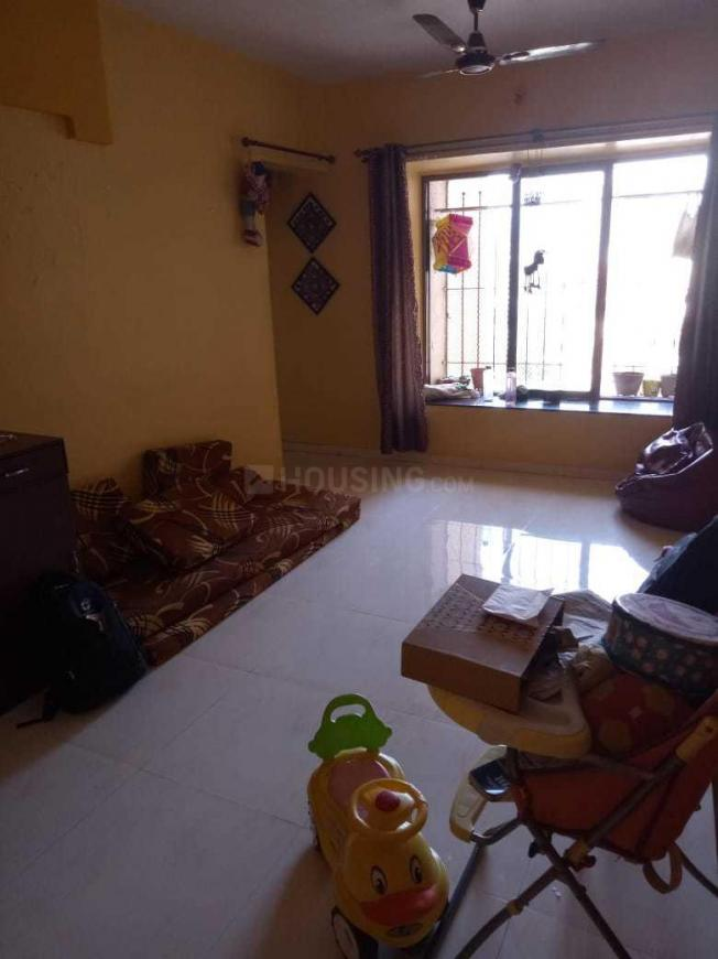 Living Room Image of 650 Sq.ft 1 BHK Apartment for rent in Bhandup West for 25000