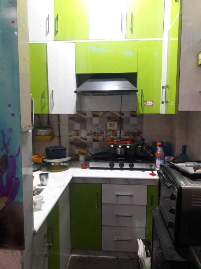 Kitchen Image of 650 Sq.ft 1 BHK Independent Floor for rent in Vaishali for 14000