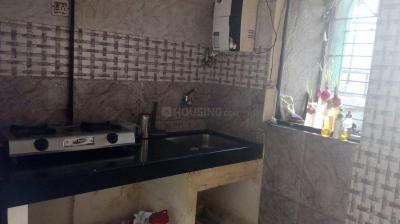 Kitchen Image of Female Flatmate Single Occupancy At Kasarvadavali Roadtouch Flat in Thane West
