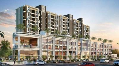 Gallery Cover Image of 608 Sq.ft 1 BHK Apartment for buy in W 57, Wakad for 3700000