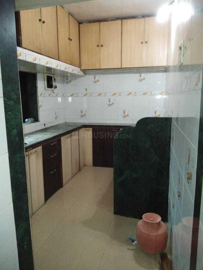 Kitchen Image of 550 Sq.ft 1 BHK Apartment for rent in Kalyan East for 8000