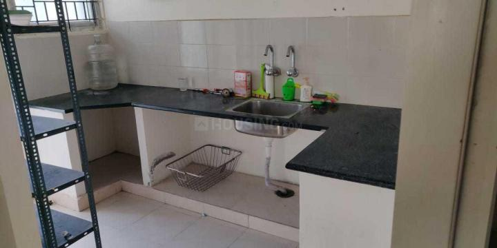 Kitchen Image of 692 Sq.ft 2 BHK Apartment for rent in Janapriya Lake Front, Kapra for 8000