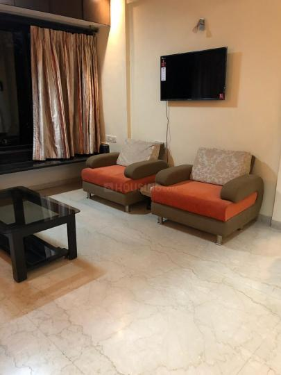 Living Room Image of 1000 Sq.ft 2 BHK Apartment for rent in Bandra East for 65000