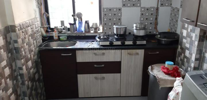 Kitchen Image of 700 Sq.ft 1 BHK Apartment for rent in New Panvel East for 11000