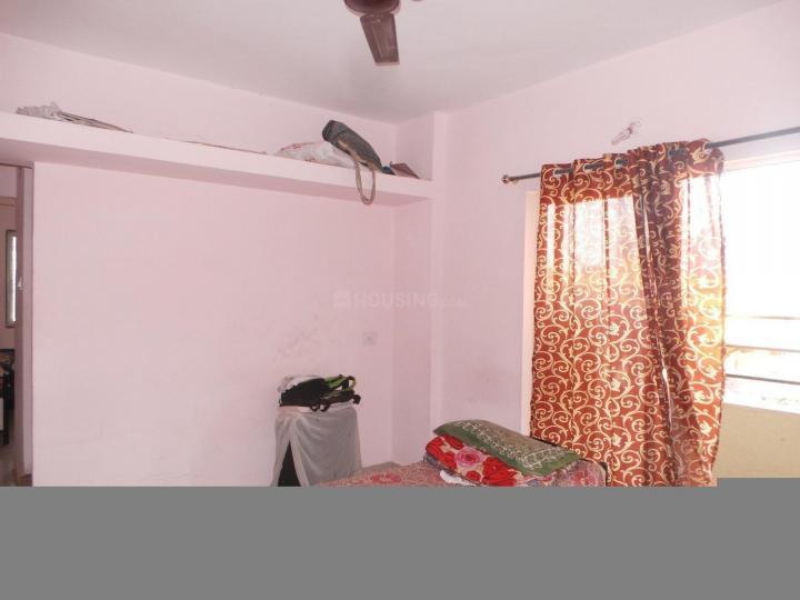 वाघोली में भक्ति गर्ल्स होस्टल के बेडरूम की तस्वीर