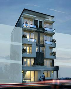 Gallery Cover Image of 2150 Sq.ft 4 BHK Apartment for buy in Frazer Town for 18300000