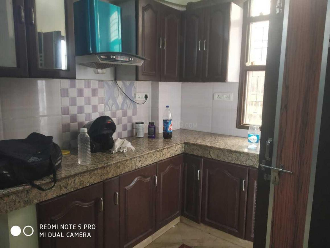 Kitchen Image of 1200 Sq.ft 3 BHK Independent Floor for rent in Sector 19 Dwarka for 21000
