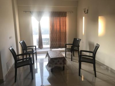 Gallery Cover Image of 845 Sq.ft 1 BHK Apartment for rent in Pushpanjali Imperial Heights, Bhagwant Pur for 15000