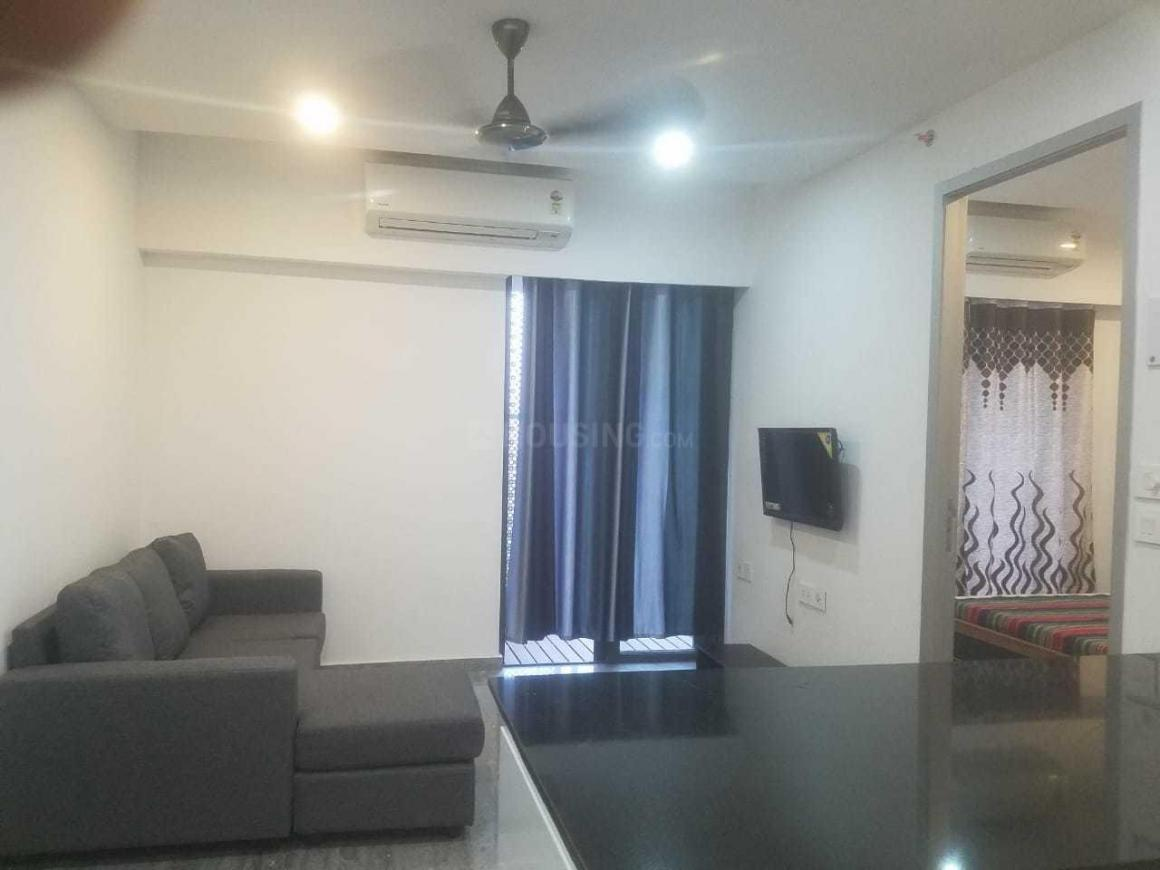 Living Room Image of 730 Sq.ft 1 BHK Apartment for rent in Wadala East for 49000