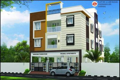 Gallery Cover Image of 1101 Sq.ft 3 BHK Apartment for buy in Tiruvallur for 3800000