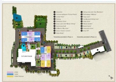 Gallery Cover Image of 635 Sq.ft 2 BHK Apartment for buy in Signum Sampurna, Agarpara for 3600000