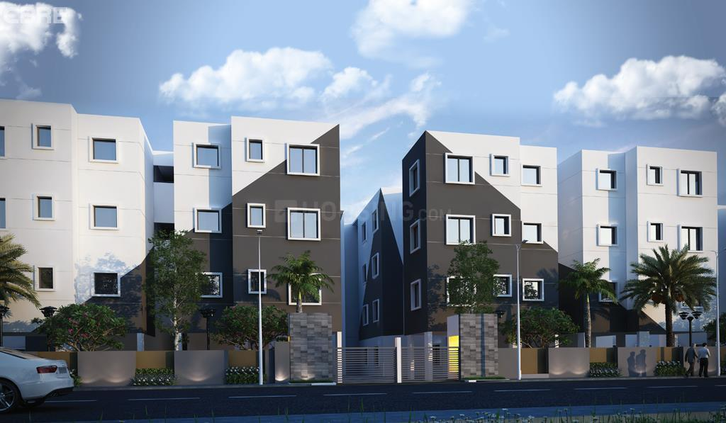 Building Image of 592 Sq.ft 2 BHK Apartment for buy in Vembedu for 2000000