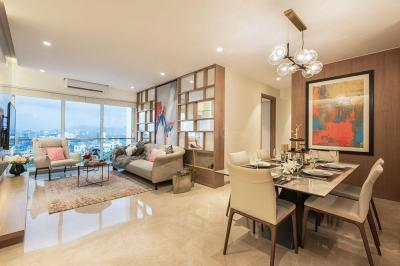 Hall Image of 890 Sq.ft 2 BHK Apartment for buy in Shapoorji Pallonji BKC 28, Bandra East for 25000000
