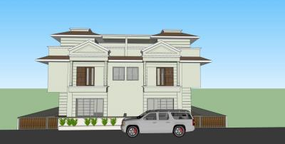 Gallery Cover Image of 1700 Sq.ft 4 BHK Villa for buy in Bopal for 16000000