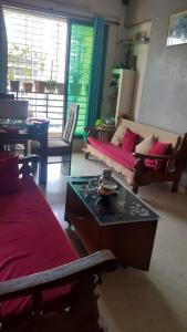 Gallery Cover Image of 600 Sq.ft 1 BHK Apartment for rent in Krishna kamal, Nerul for 20000