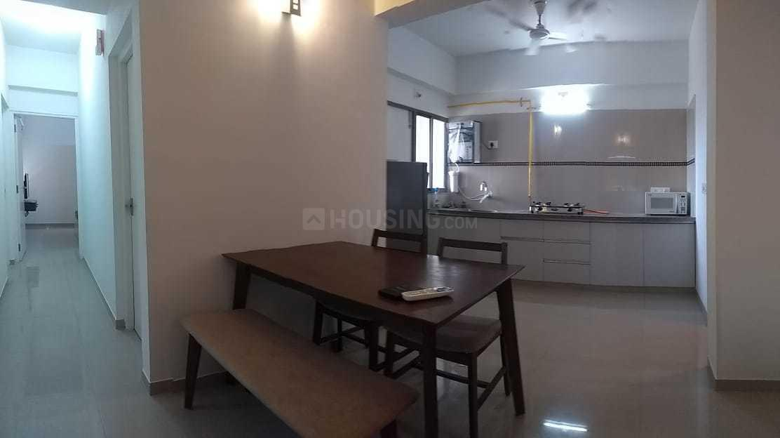 Living Room Image of 1350 Sq.ft 3 BHK Apartment for rent in Shela for 27000