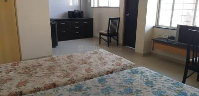 Gallery Cover Image of 450 Sq.ft 1 RK Apartment for rent in Goel Ganga Orchard, Mundhwa for 13600