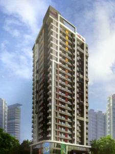 Gallery Cover Image of 825 Sq.ft 2 BHK Apartment for buy in White Rose, Thane West for 13325000