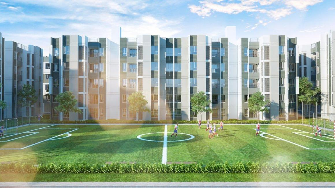Building Image of 767 Sq.ft 2 BHK Apartment for buy in Joka for 1730000