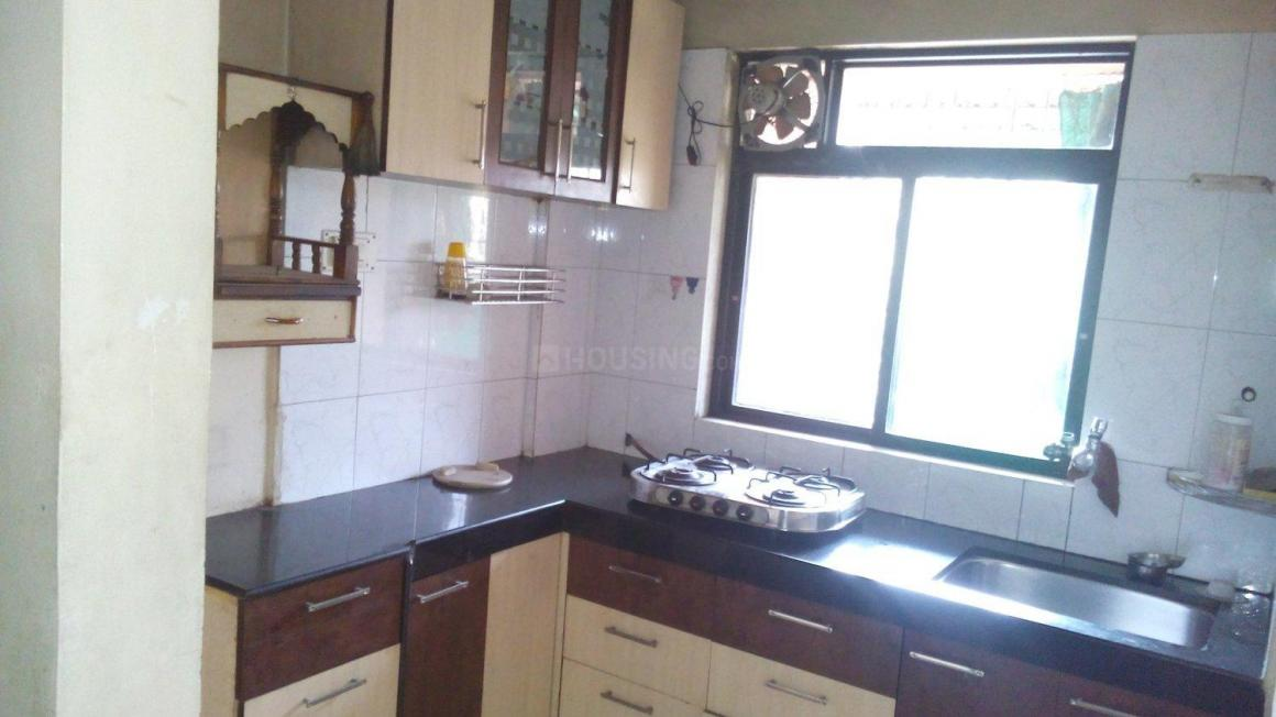 Kitchen Image of 650 Sq.ft 1 BHK Apartment for rent in Greater Khanda for 12500