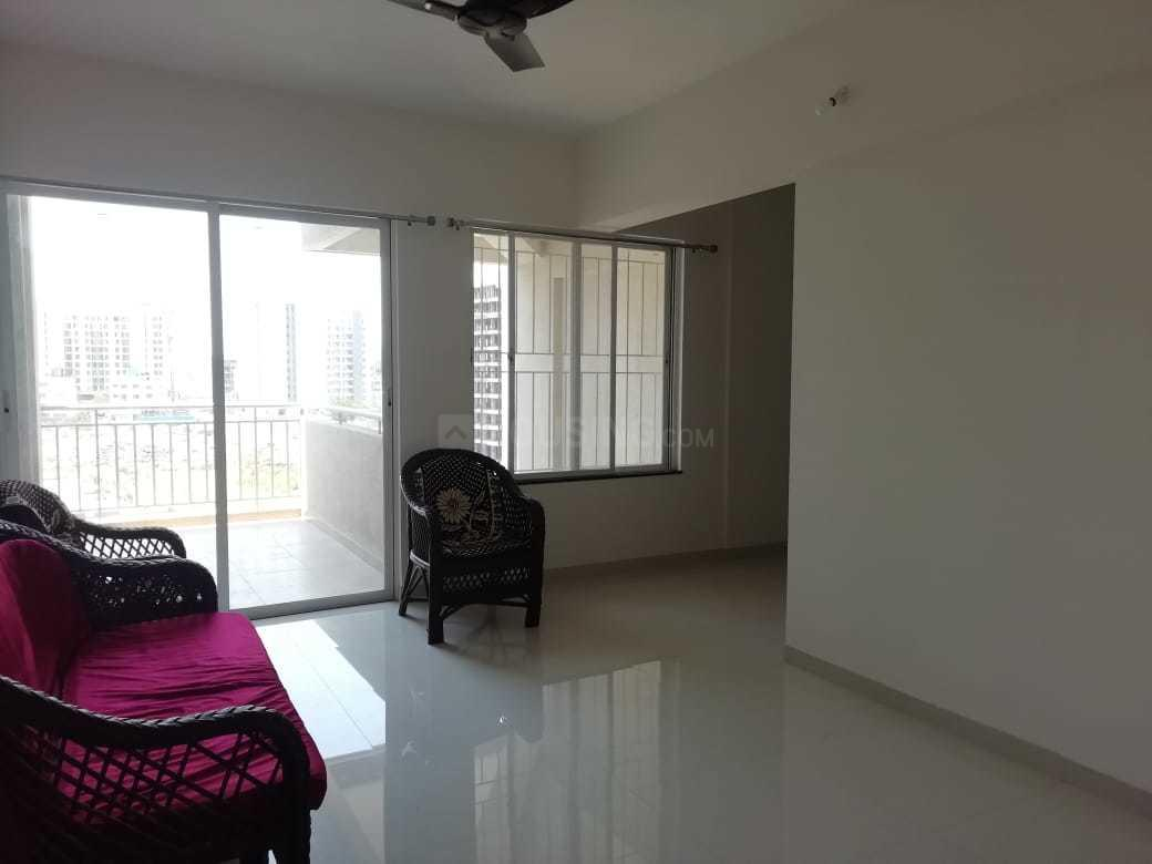 Living Room Image of 850 Sq.ft 2 BHK Apartment for rent in Dhanori for 15000