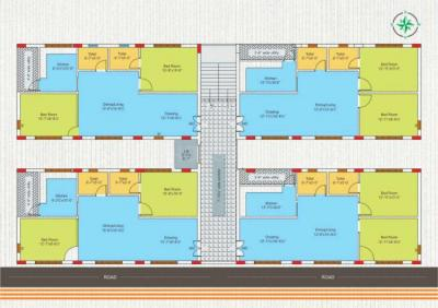 Gallery Cover Image of 1150 Sq.ft 2 BHK Apartment for buy in Munganoor for 4300000