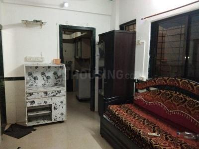 Gallery Cover Image of 430 Sq.ft 1 RK Apartment for rent in Airoli for 14500