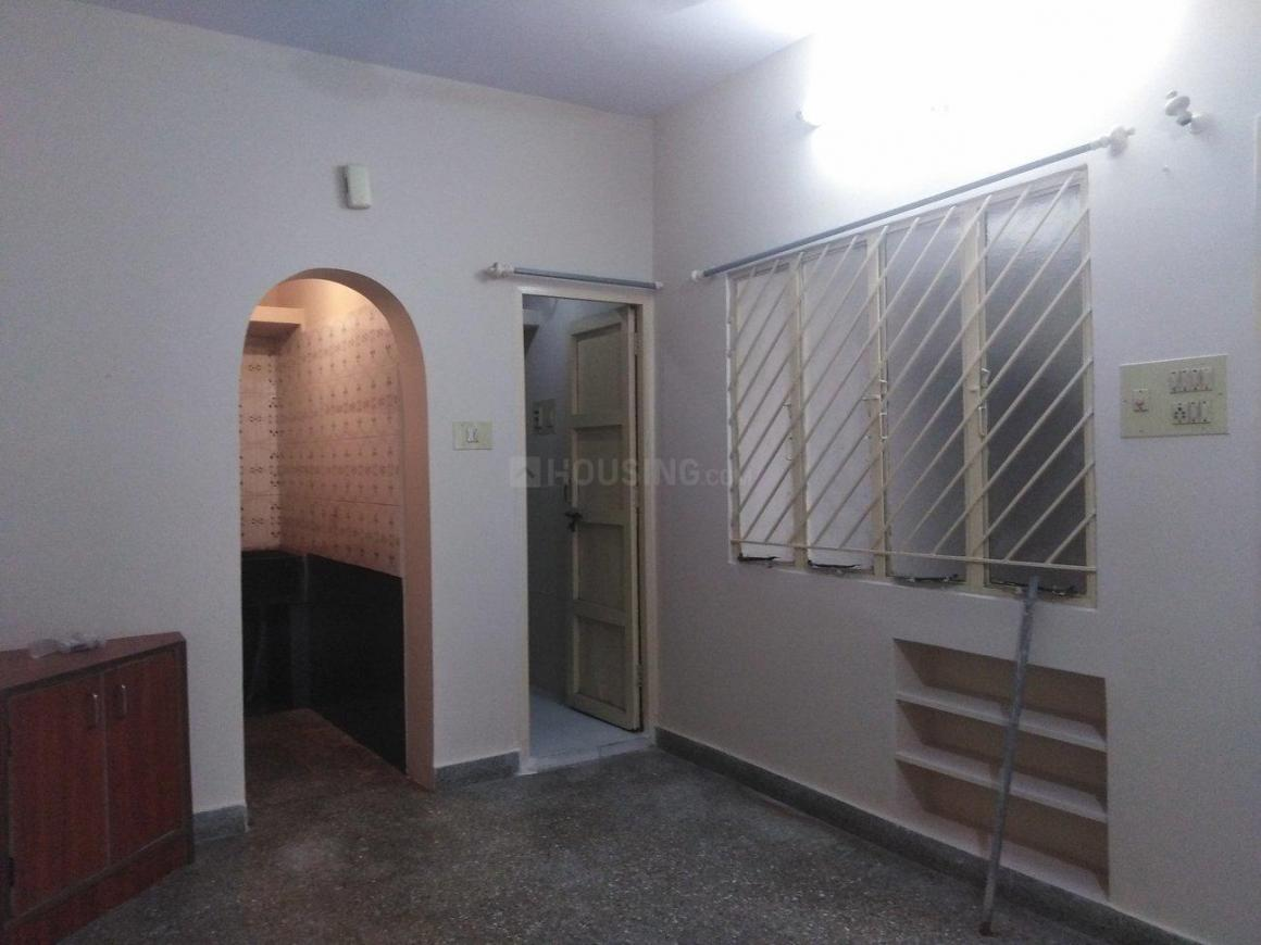 Living Room Image of 550 Sq.ft 1 BHK Apartment for rent in BTM Layout for 12000