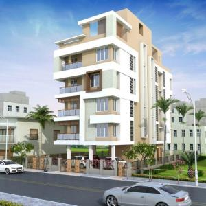 Gallery Cover Image of 2405 Sq.ft 4 BHK Apartment for buy in Gariahat for 24050000