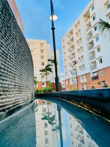 Gallery Cover Image of 618 Sq.ft 1 BHK Apartment for rent in Akshaya Republic, Kovur for 9000