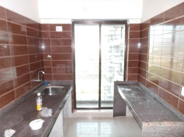 Kitchen Image of 685 Sq.ft 1 BHK Apartment for rent in Kamothe for 14000