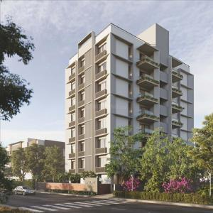 Gallery Cover Image of 2500 Sq.ft 3 BHK Apartment for buy in Amphi Ivory 3 Bedroom Homes, Navrangpura for 16100000