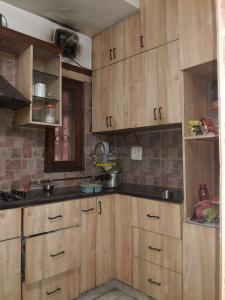 Kitchen Image of Krishna PG in Sarita Vihar